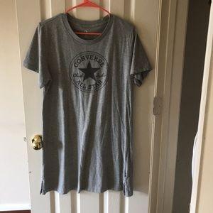 A converse t shirt dress